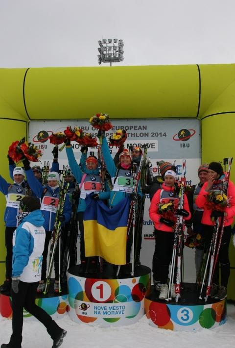 Юлія Журавок переможниця юніорського чемпіонату Європи.