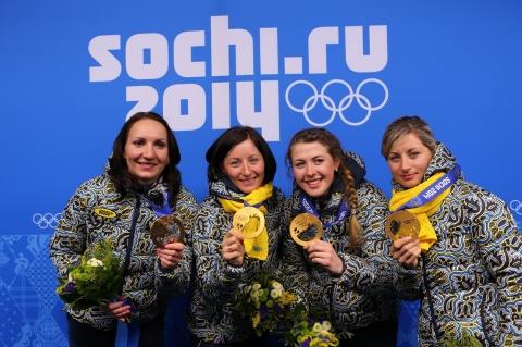 Вітаємо переможців ХХІІ зимових Олімпійських ігор!