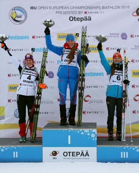 Вітаємо Юлію Журавок з бронзовою медаллю на чемпіонаті Європи з біатлону!