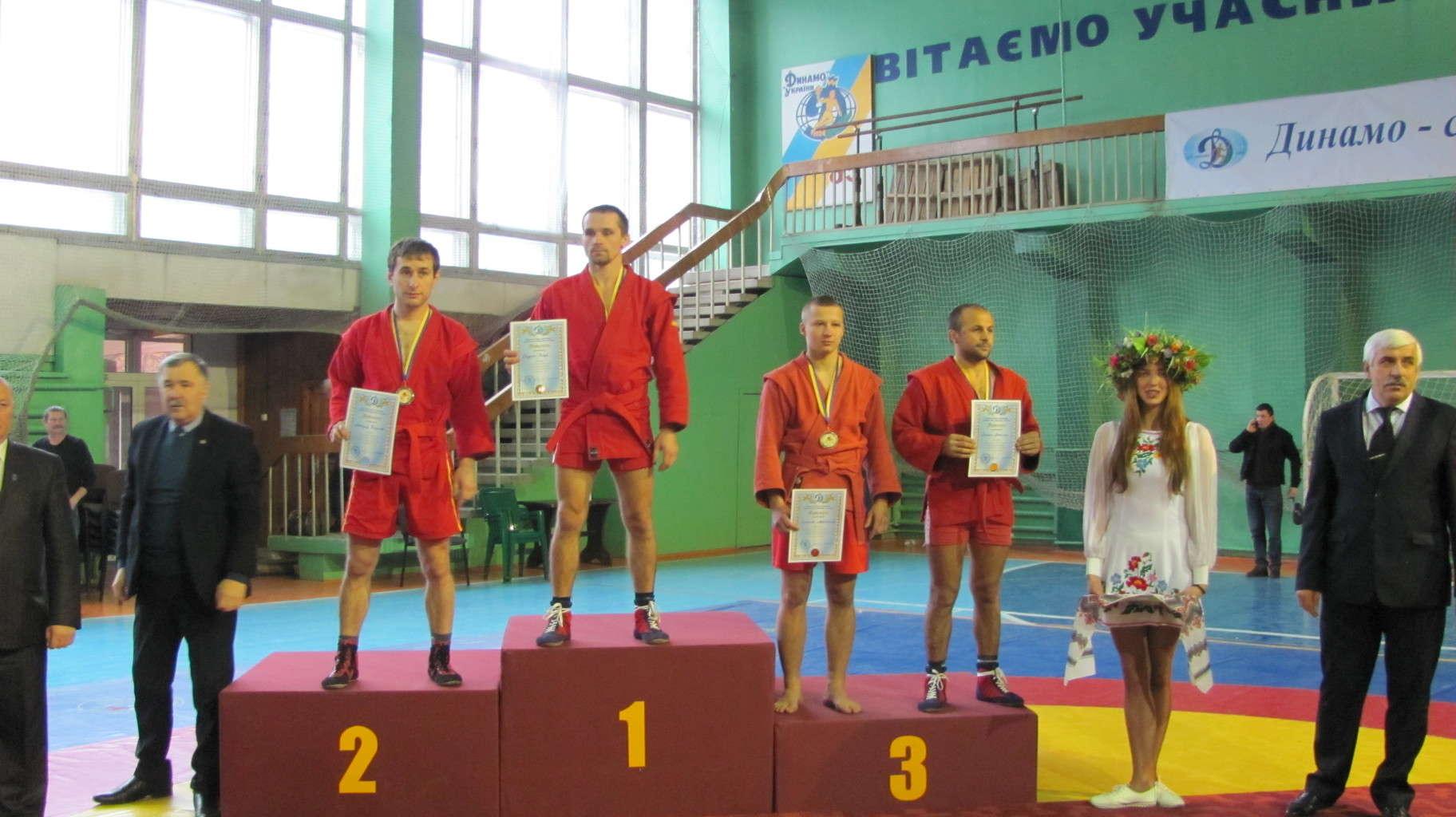 Команда обласної організації взяла участь в чемпіонаті  ФСТ «Динамо» України з боротьби самбо
