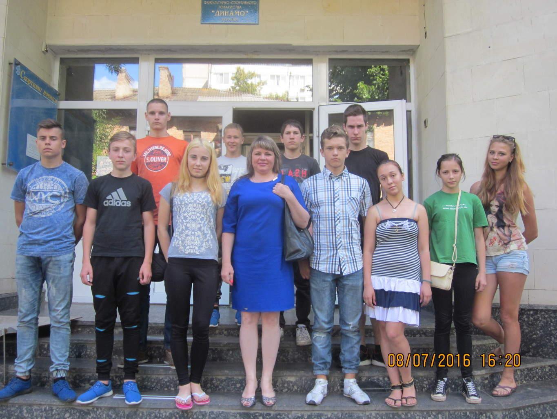 Відвідування пневматичного тиру вихованцями Сумського  центру соціально-психологічної реабілітації дітей області