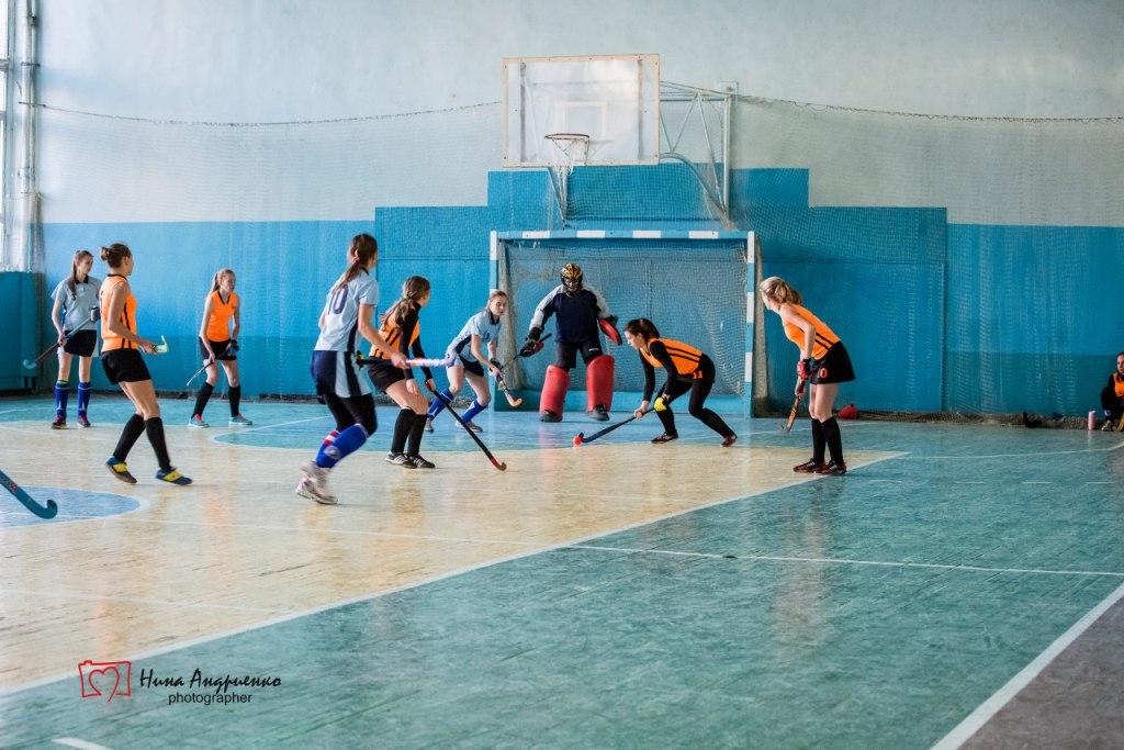 Чемпіонат України з хокею на траві в приміщеннях серед жінок (І тур)