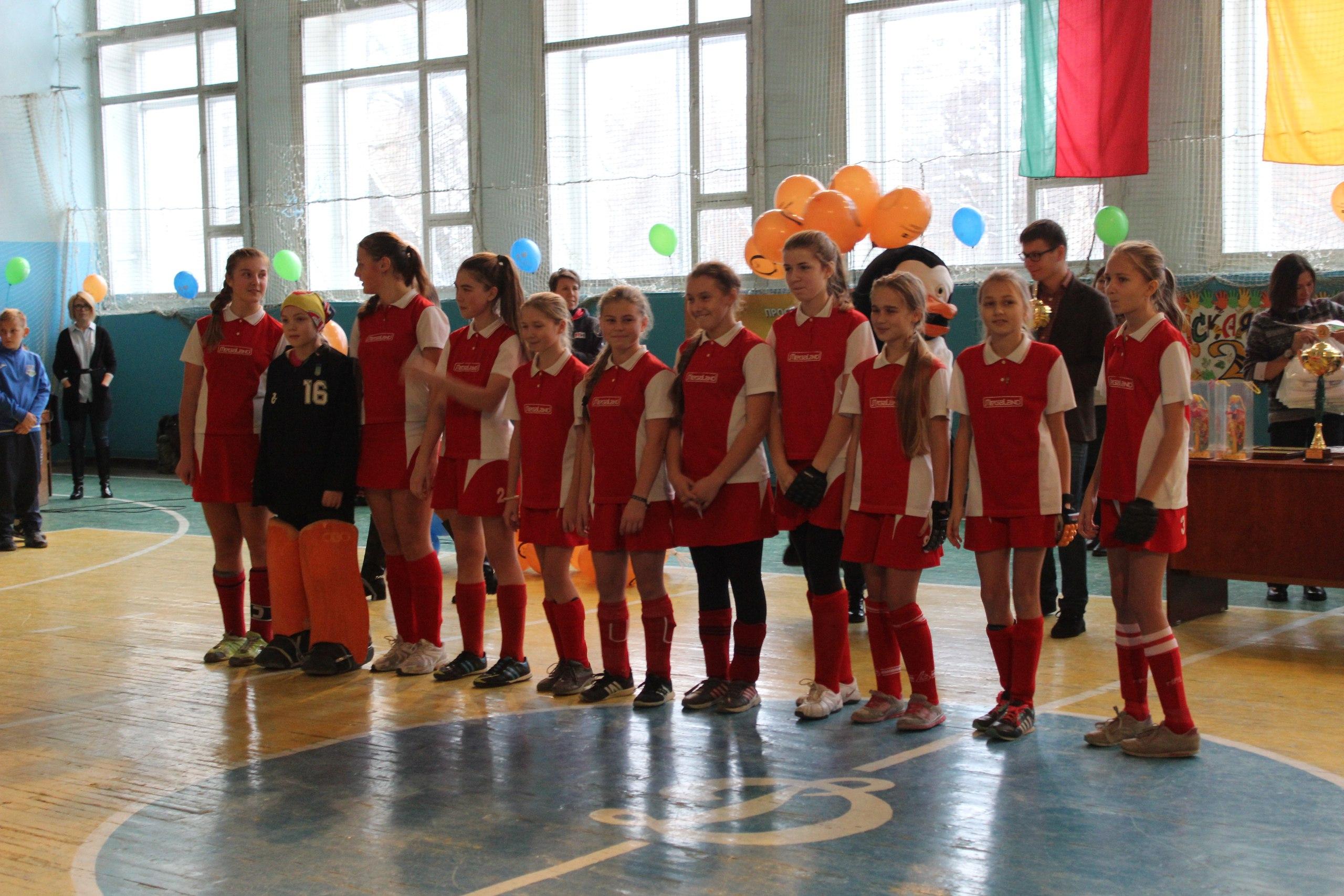 XV міжнародний дитячий турнір з індорхокею «Сумська осінь-2016» серед дівчат та хлопців 2004 р.н. та молодше