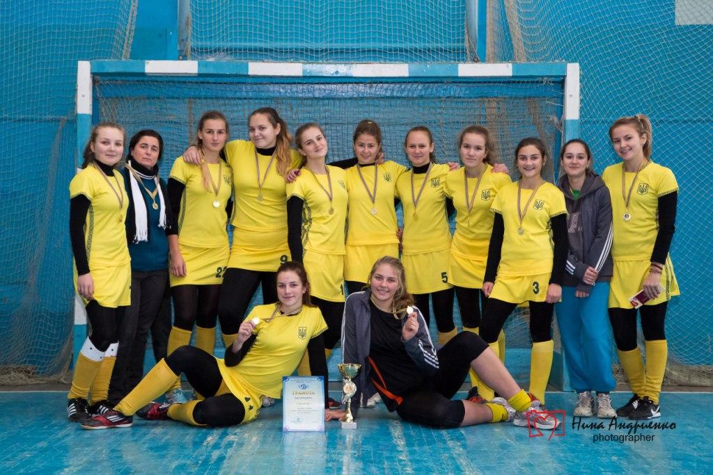 Чемпіонат України з хокею на траві в приміщеннях серед дівчат до 16 років