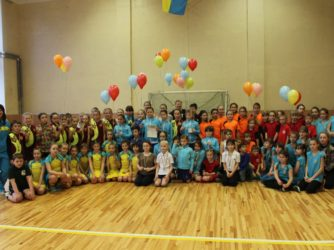 Чемпіонат України з хокею на траві в приміщеннях серед дівчат 2006-2007 р.н.