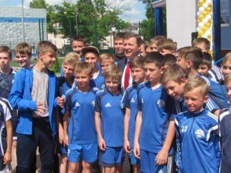 У Сумах відкрили гуртожиток футбольного центру «Барса»