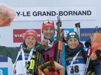 Віта Семеренко – бронзовий призер спринтерської гонки у жінок на третьому етапі Кубка світу!