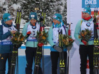Срібло на другому етапі Кубка світу з біатлону!