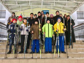 Зимова прогулянка для дітей з Ульянівки та Гребениківки