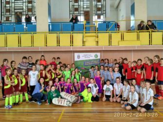 Чемпіонат України з хокею на траві в приміщенні серед дівчат 2006-2007 р.н.
