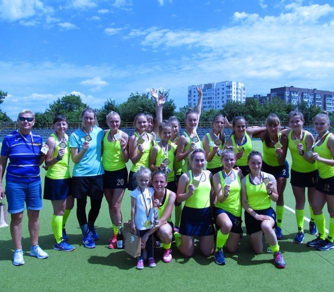 Фінальний тур чемпіонату України з хокею на траві серед жіночих команд