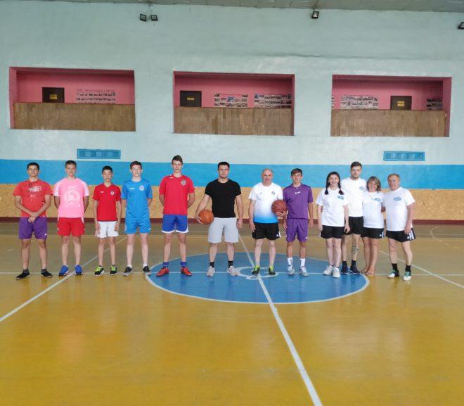 Товариський матч з баскетболу присвячений святкуванню Олімпійського дня 2020 в Україні